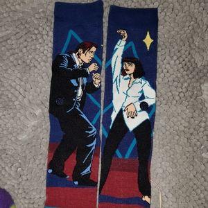 Stance Pulp Fiction Themed Socks Men's Sz Large